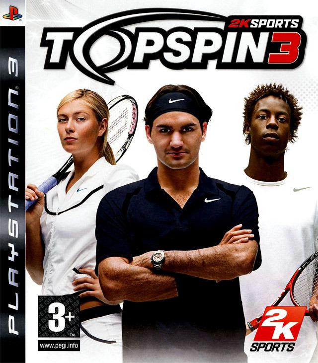 jaquette du jeu vidéo Top Spin 3