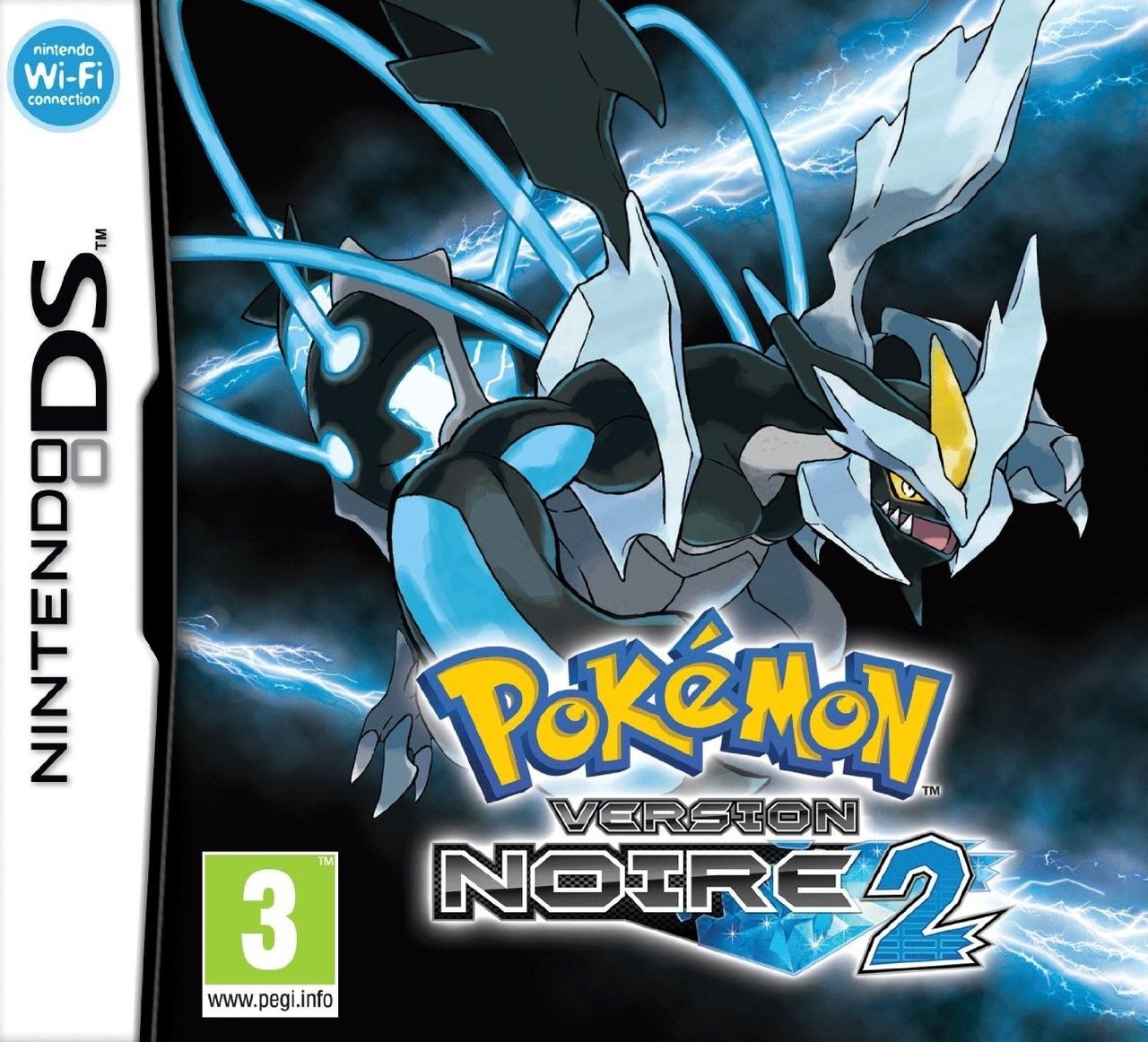 jaquette du jeu vidéo Pokémon Version Noire 2