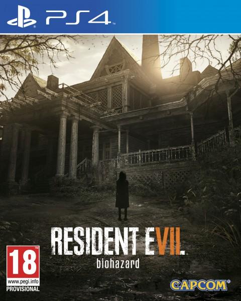 jaquette du jeu vidéo Resident evil 7