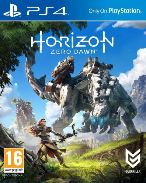 jaquette du jeu vidéo Horizon : Zero Dawn
