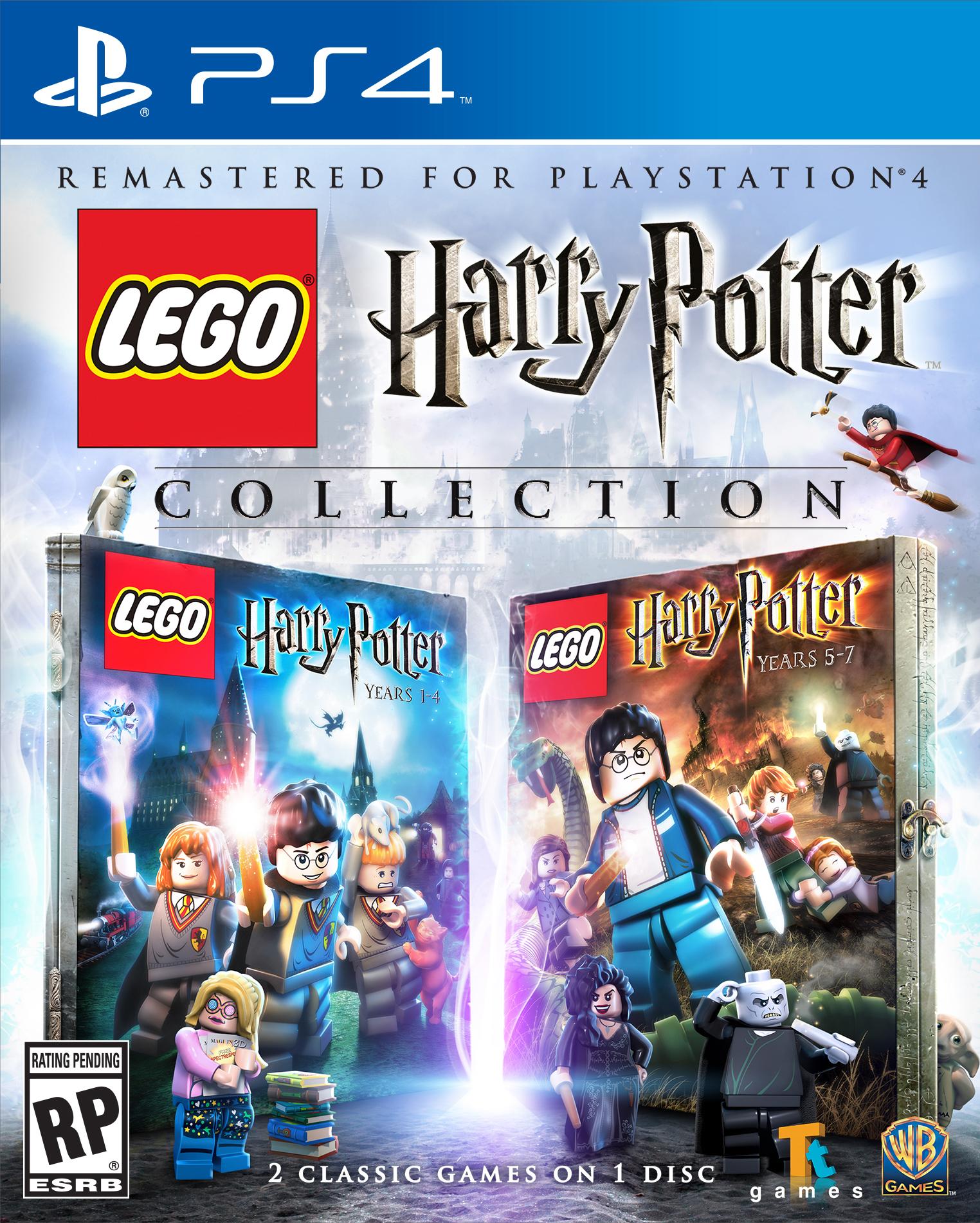 jaquette du jeu vidéo LEGO Harry Potter: Collection