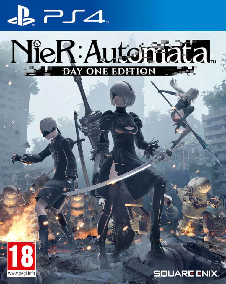 jaquette du jeu vidéo NieR: Automata