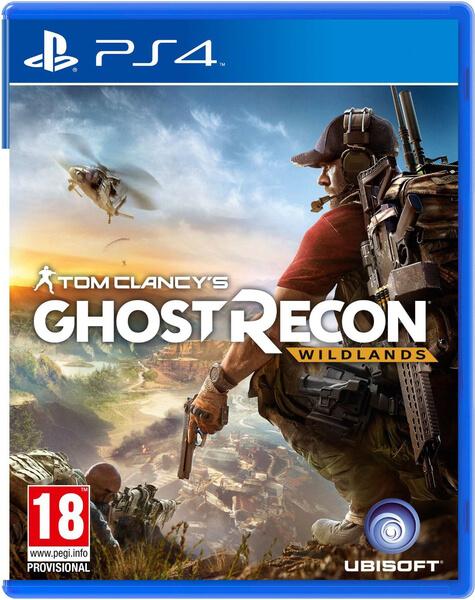 jaquette du jeu vidéo Tom Clancy's Ghost Recon Wildlands