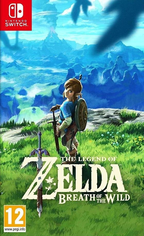 jaquette du jeu vidéo The Legend of Zelda: Breath of the Wild