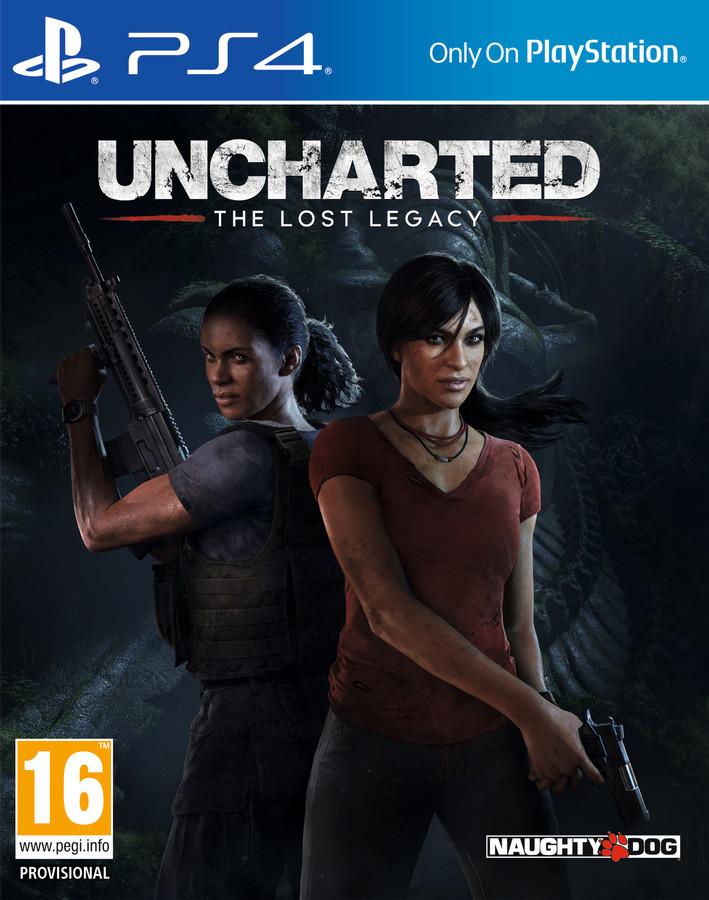 jaquette du jeu vidéo Uncharted: The Lost Legacy