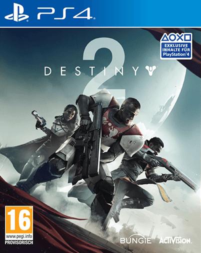 jaquette du jeu vidéo Destiny 2