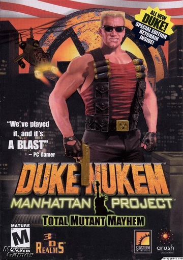 jaquette du jeu vidéo Duke Nukem: Manhattan Project