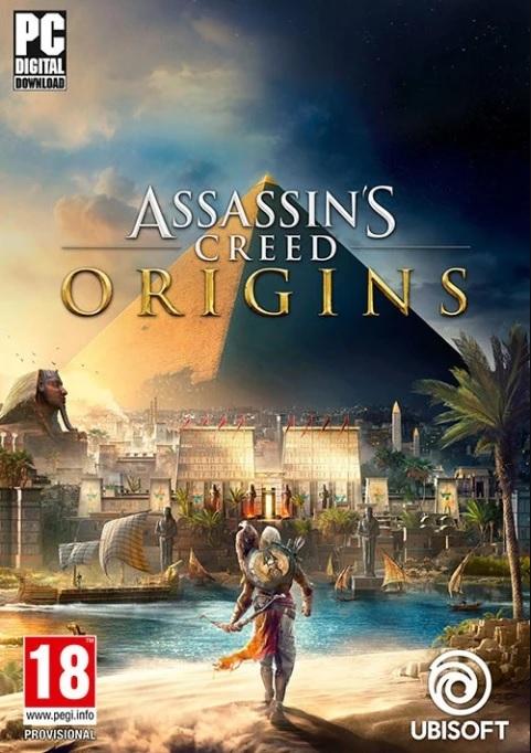 jaquette du jeu vidéo Assassin's Creed Origins