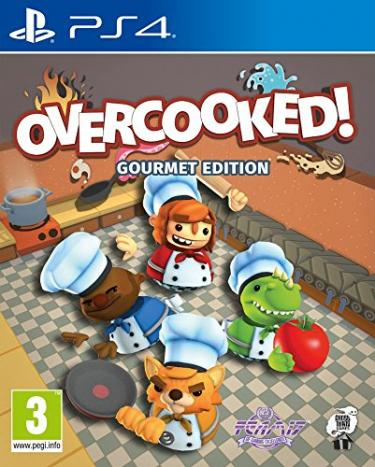 jaquette du jeu vidéo Overcooked