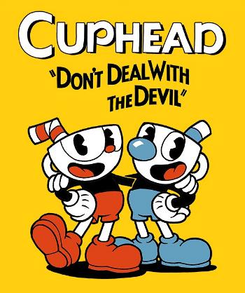jaquette du jeu vidéo Cuphead
