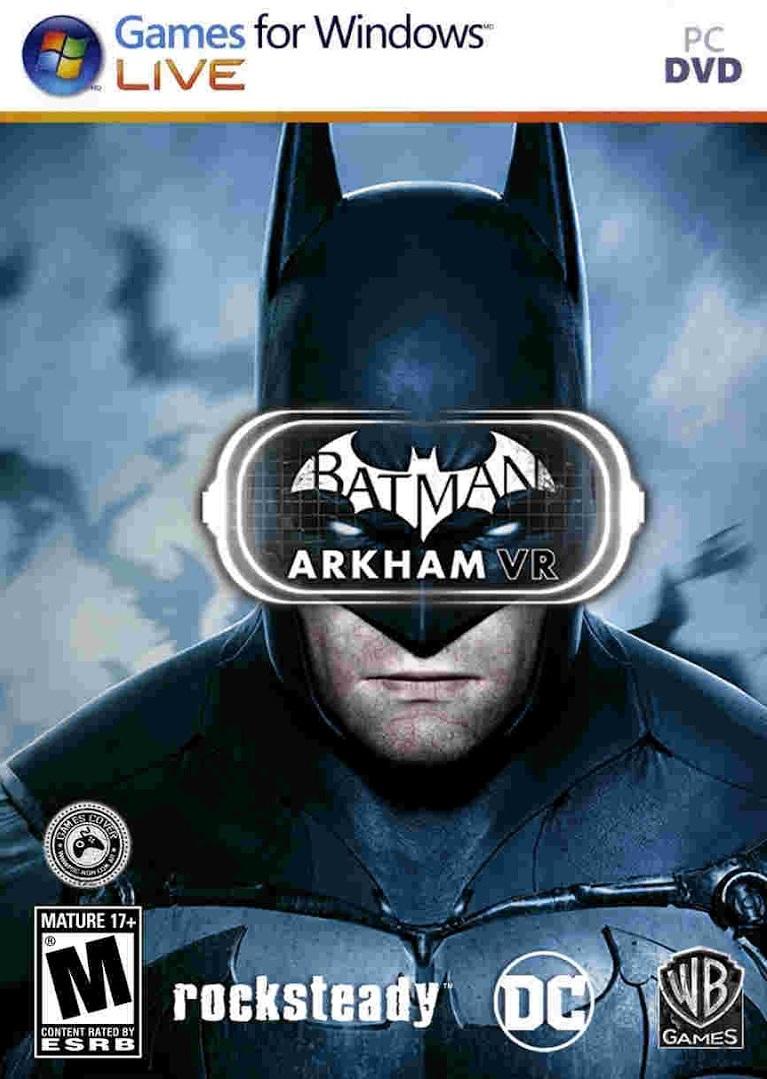 jaquette du jeu vidéo Batman: Arkham VR