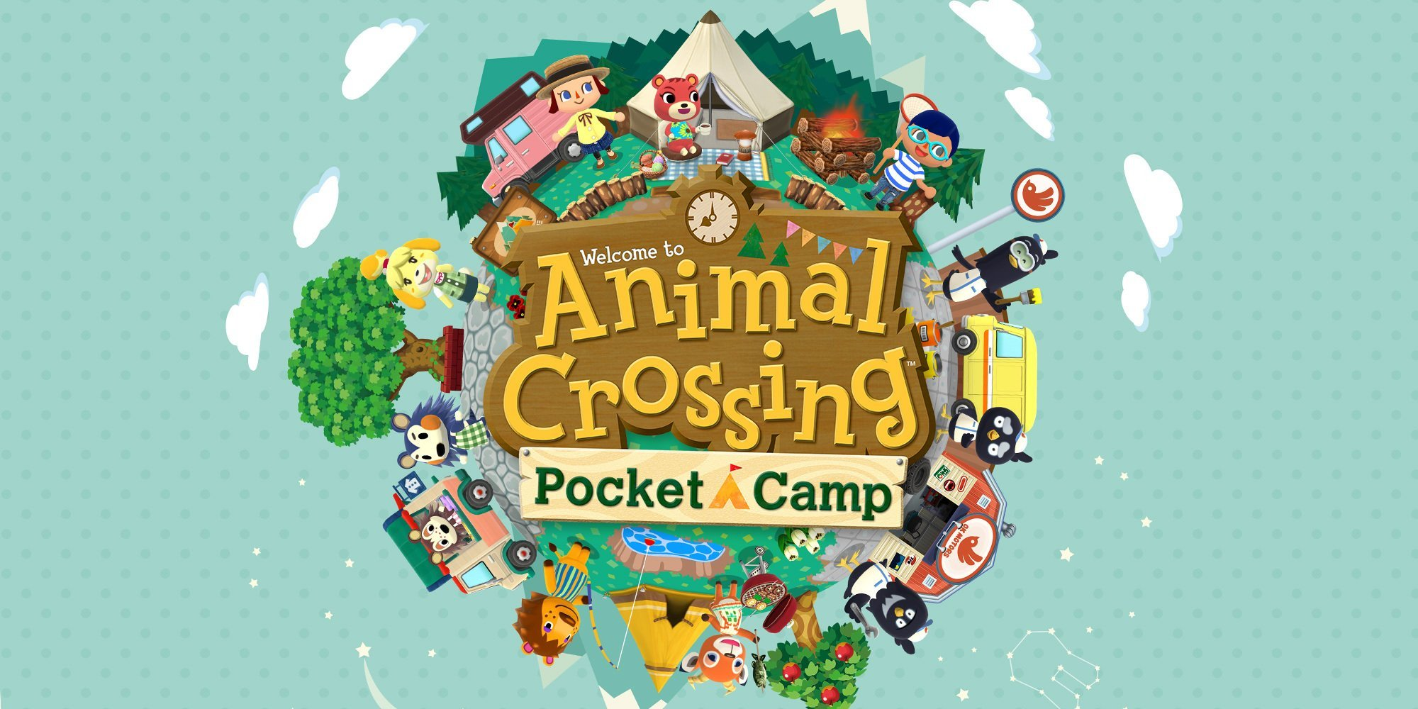 jaquette du jeu vidéo Animal Crossing : Pocket Camp