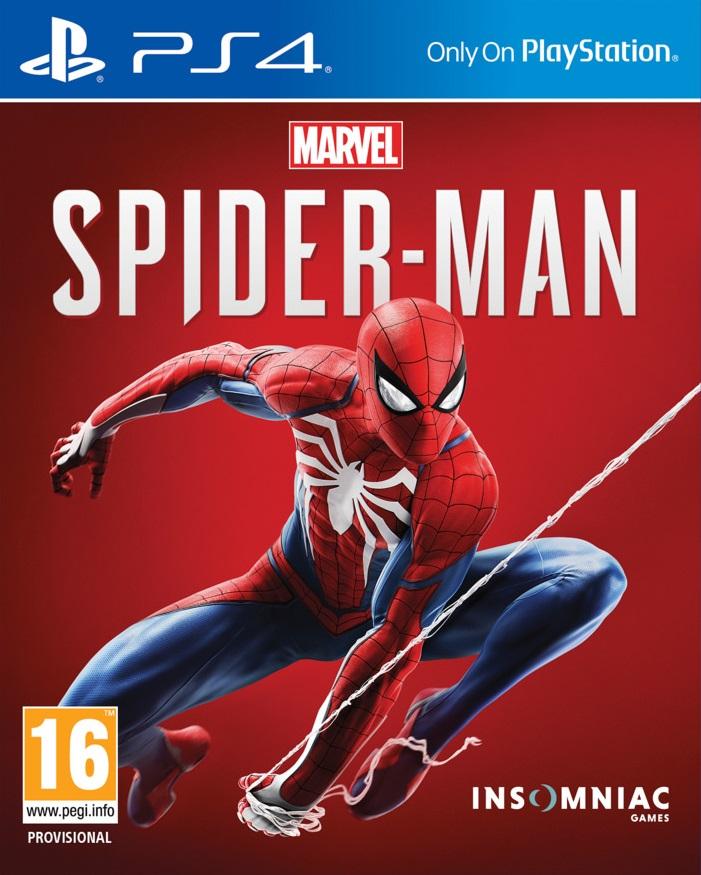 jaquette du jeu vidéo Marvel's Spider-Man