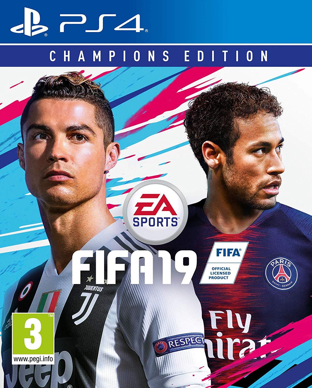 jaquette du jeu vidéo FIFA 19