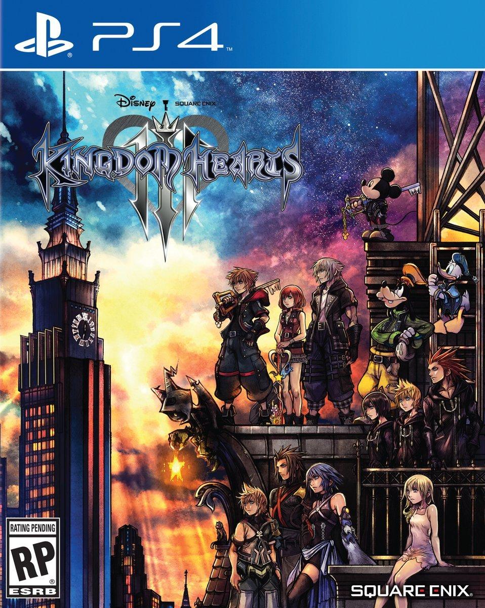 jaquette du jeu vidéo Kingdom Hearts III