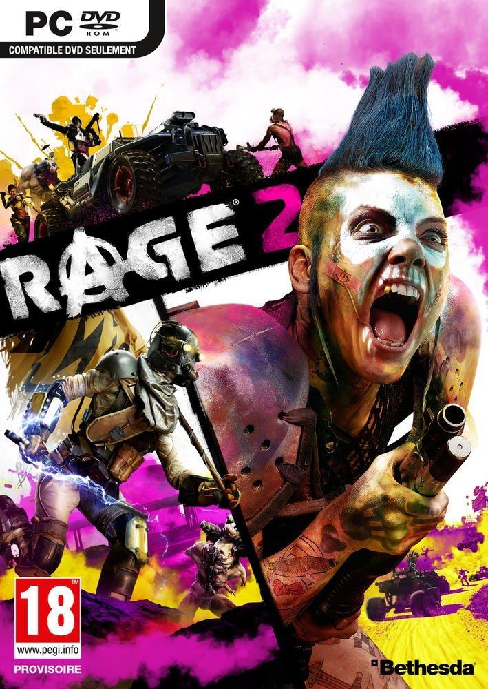 jaquette du jeu vidéo Rage 2