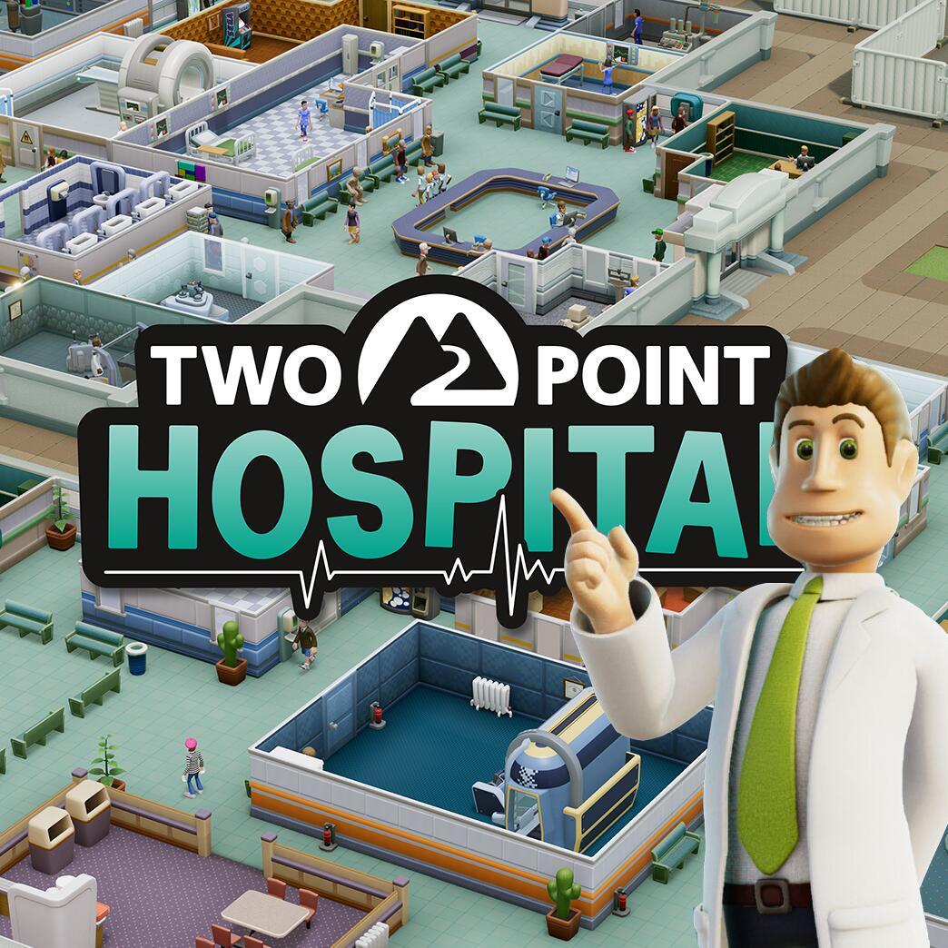 jaquette du jeu vidéo Two Point Hospital