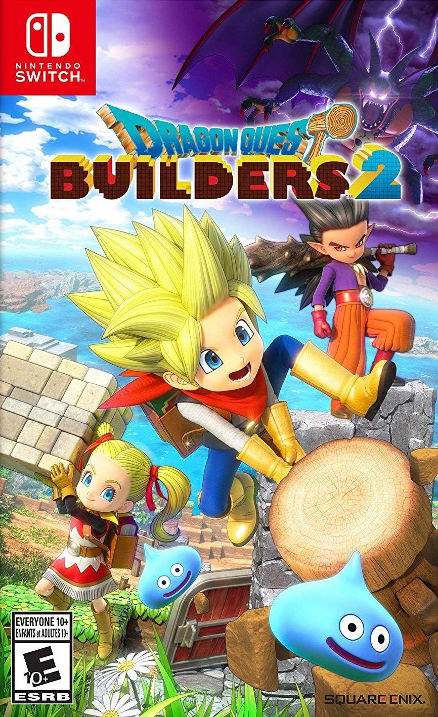 jaquette du jeu vidéo Dragon Quest Builders 2