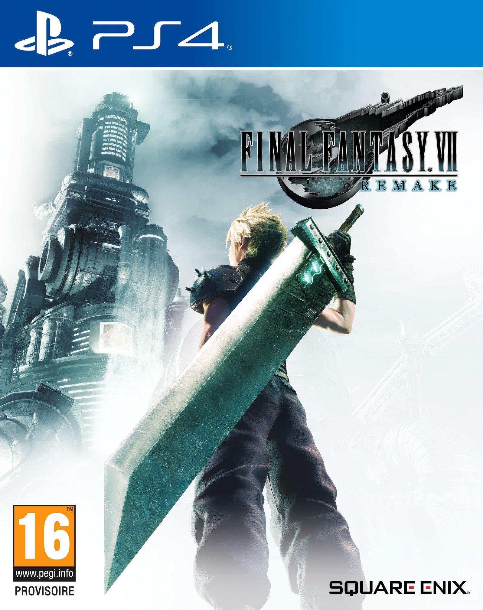 jaquette du jeu vidéo Final Fantasy VII Remake