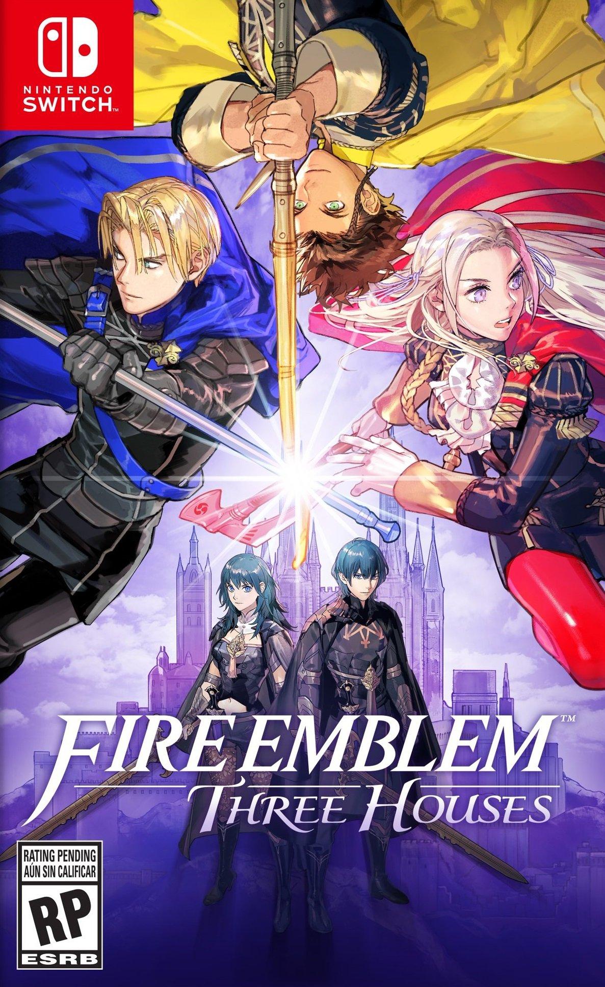 jaquette du jeu vidéo Fire Emblem : Three Houses