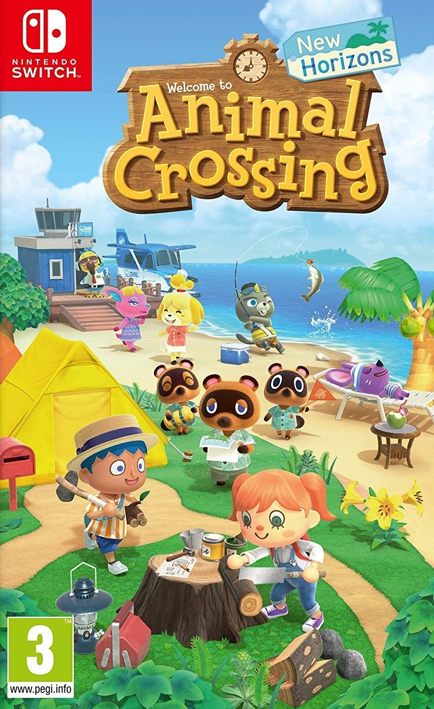 jaquette du jeu vidéo Animal Crossing: New Horizons