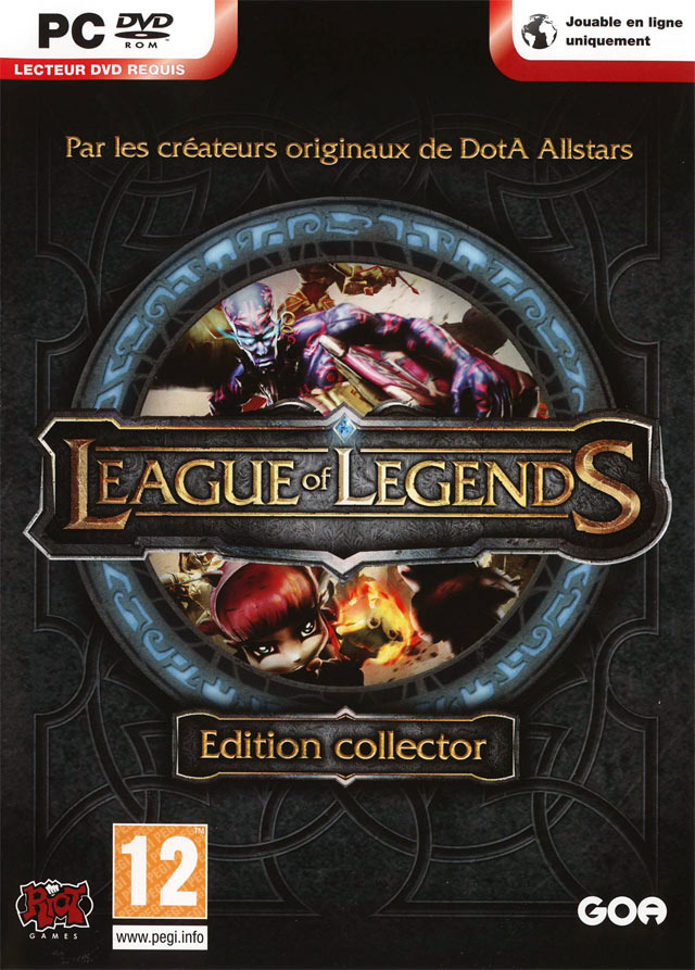 jaquette du jeu vidéo League Of Legends