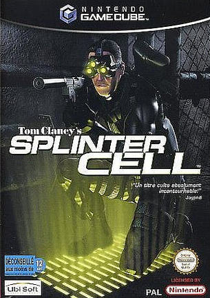jaquette du jeu vidéo Tom Clancy's Splinter Cell