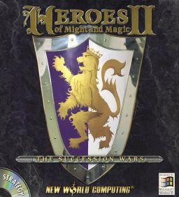 jaquette du jeu vidéo Heroes of Might and Magic II : The Succession Wars