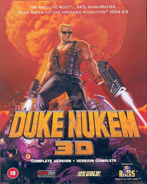 jaquette du jeu vidéo Duke Nukem 3D