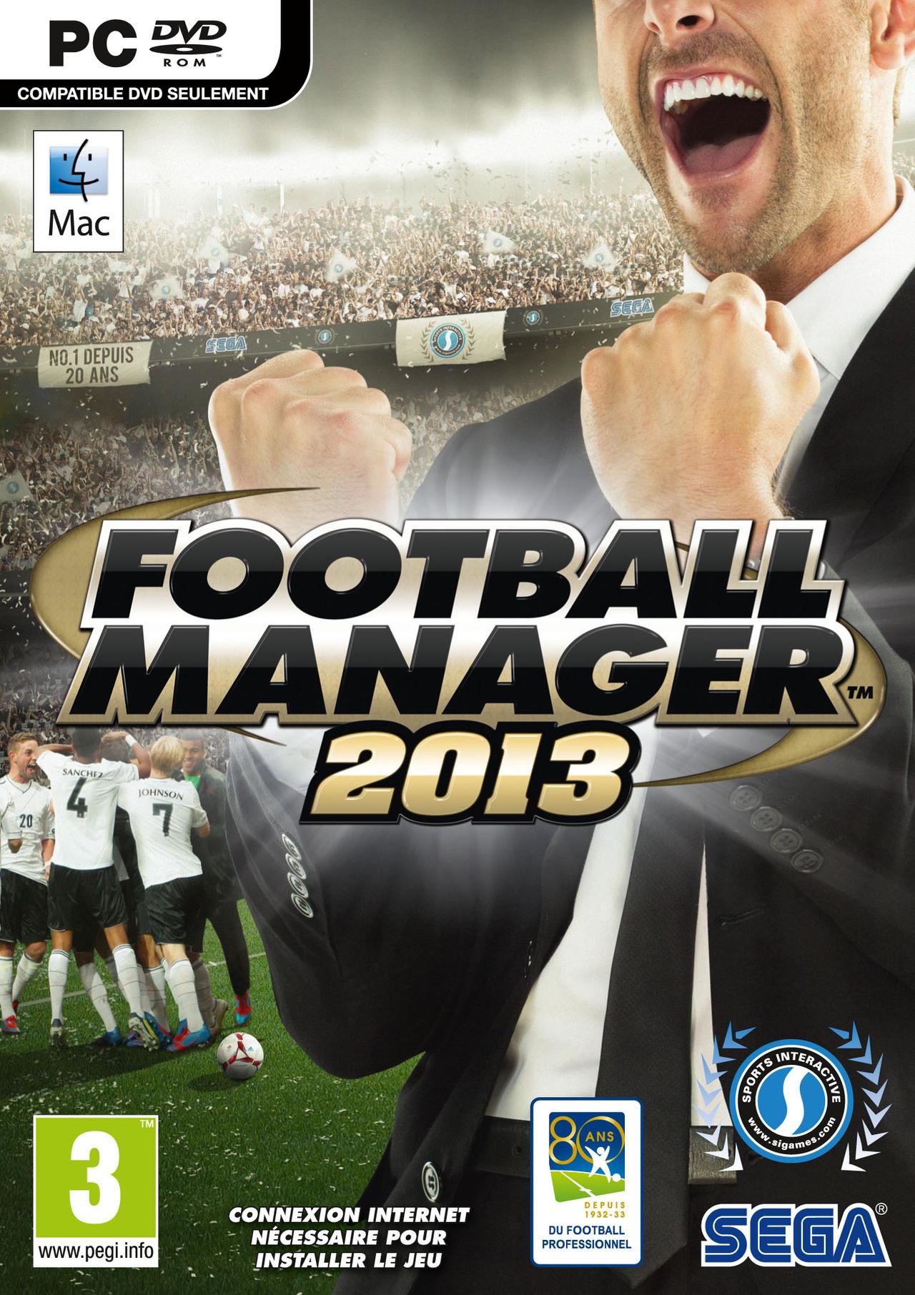jaquette du jeu vidéo Football Manager 2013