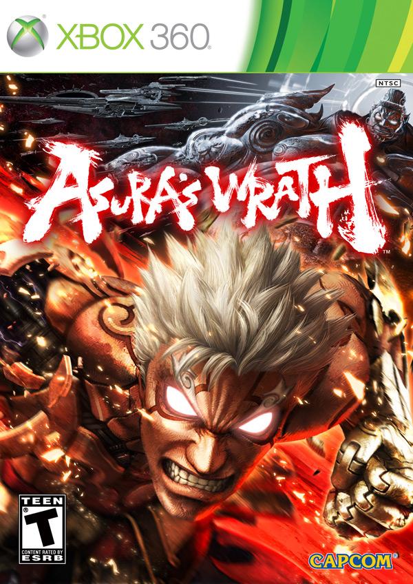 jaquette du jeu vidéo Asura's Wrath