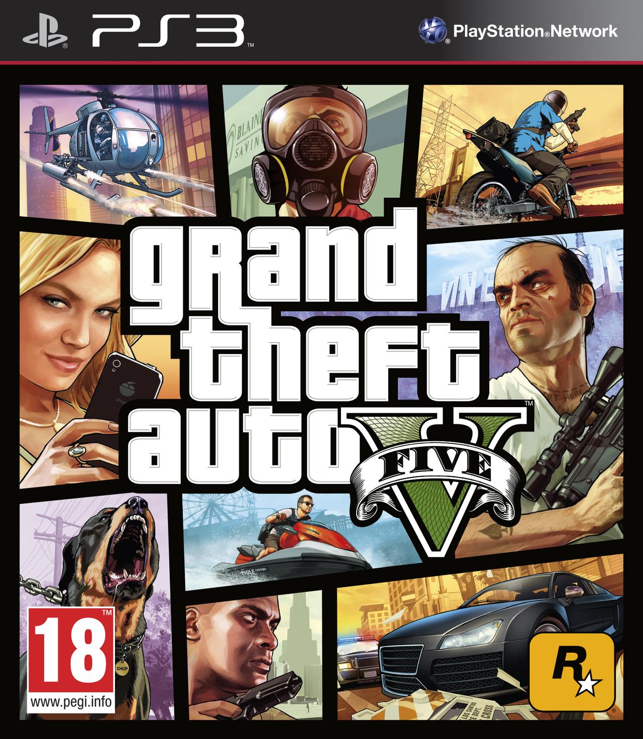 jaquette du jeu vidéo Grand Theft Auto V