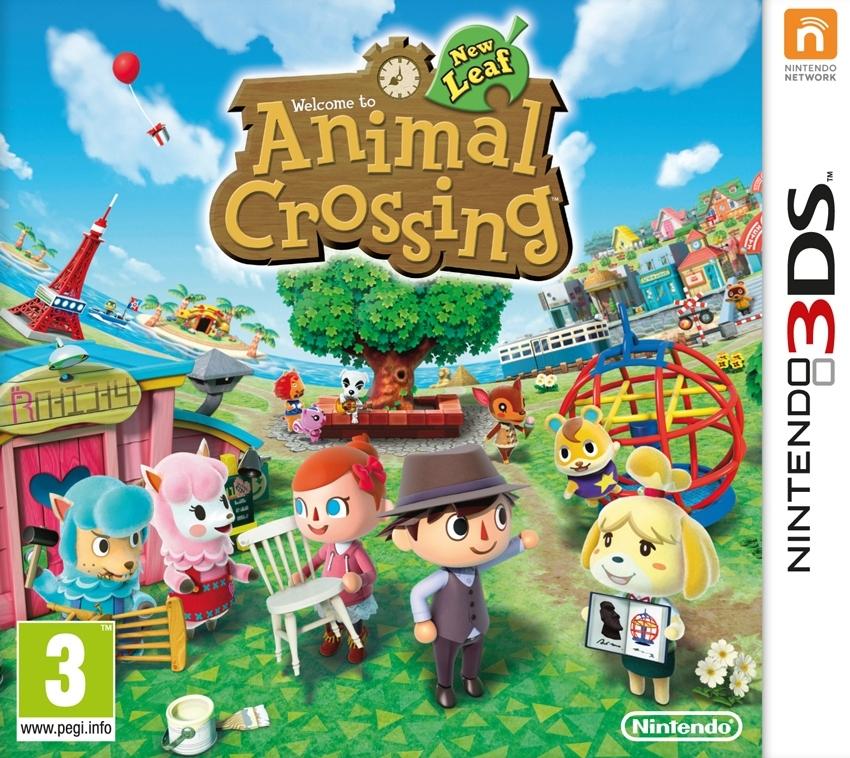 jaquette du jeu vidéo Animal Crossing : New Leaf