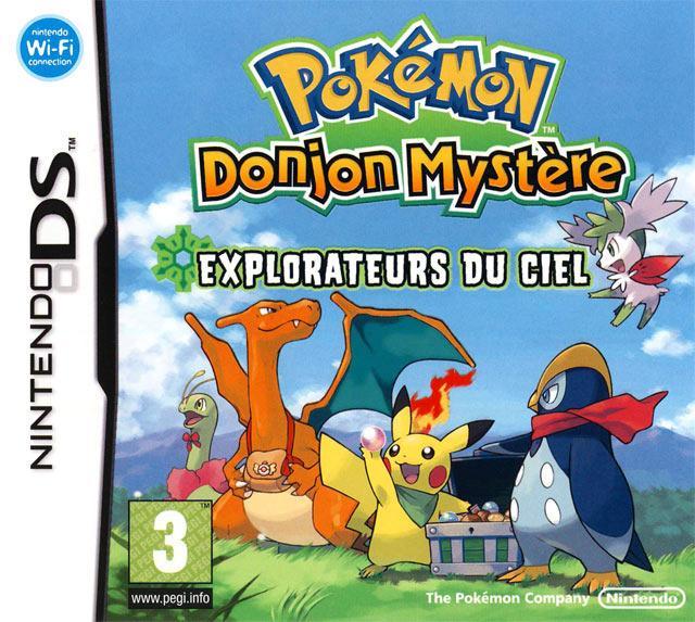jaquette du jeu vidéo Pokémon Donjon Mystère : Explorateur du ciel