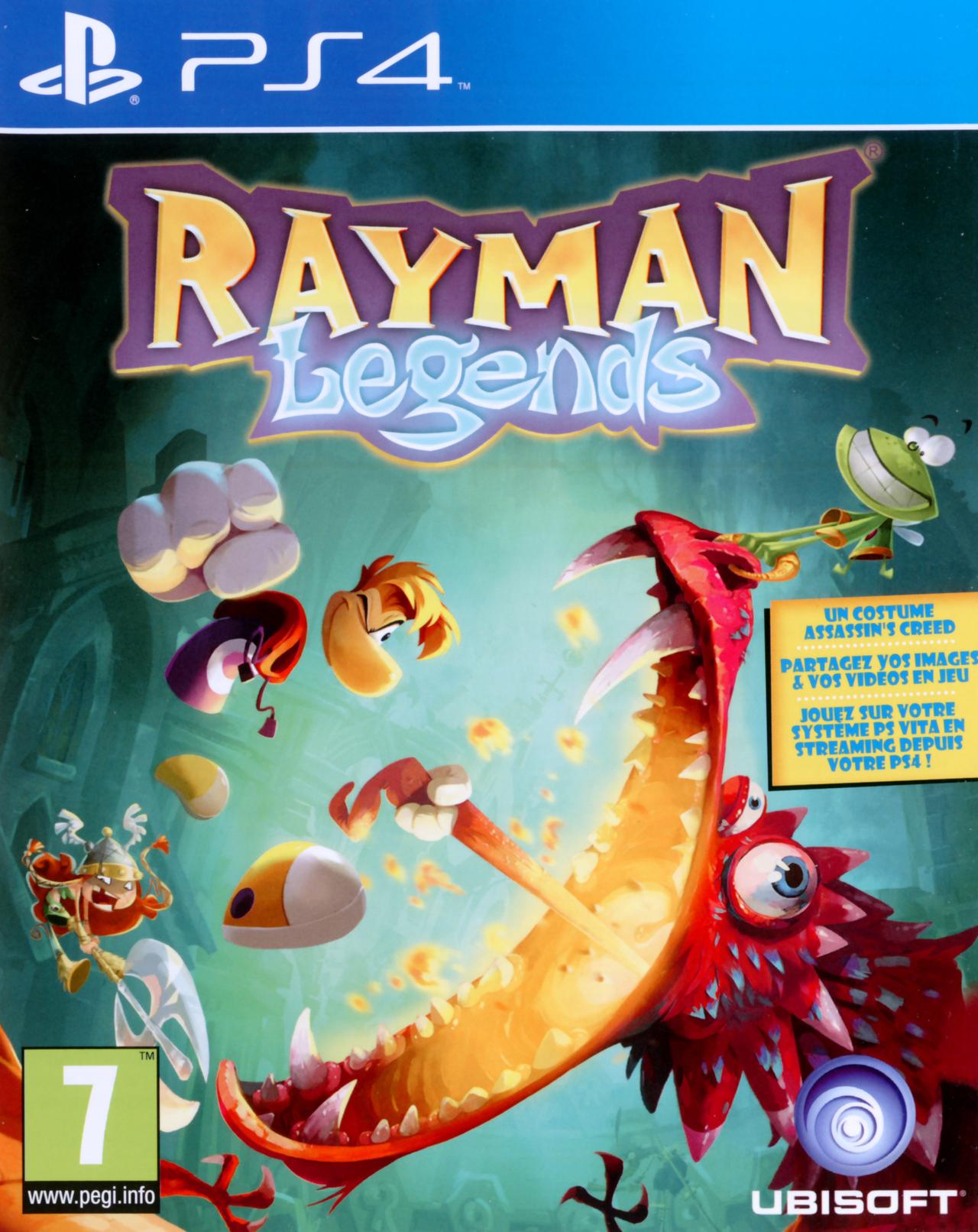 jaquette du jeu vidéo Rayman Legends