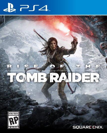 jaquette du jeu vidéo Rise of the Tomb Raider