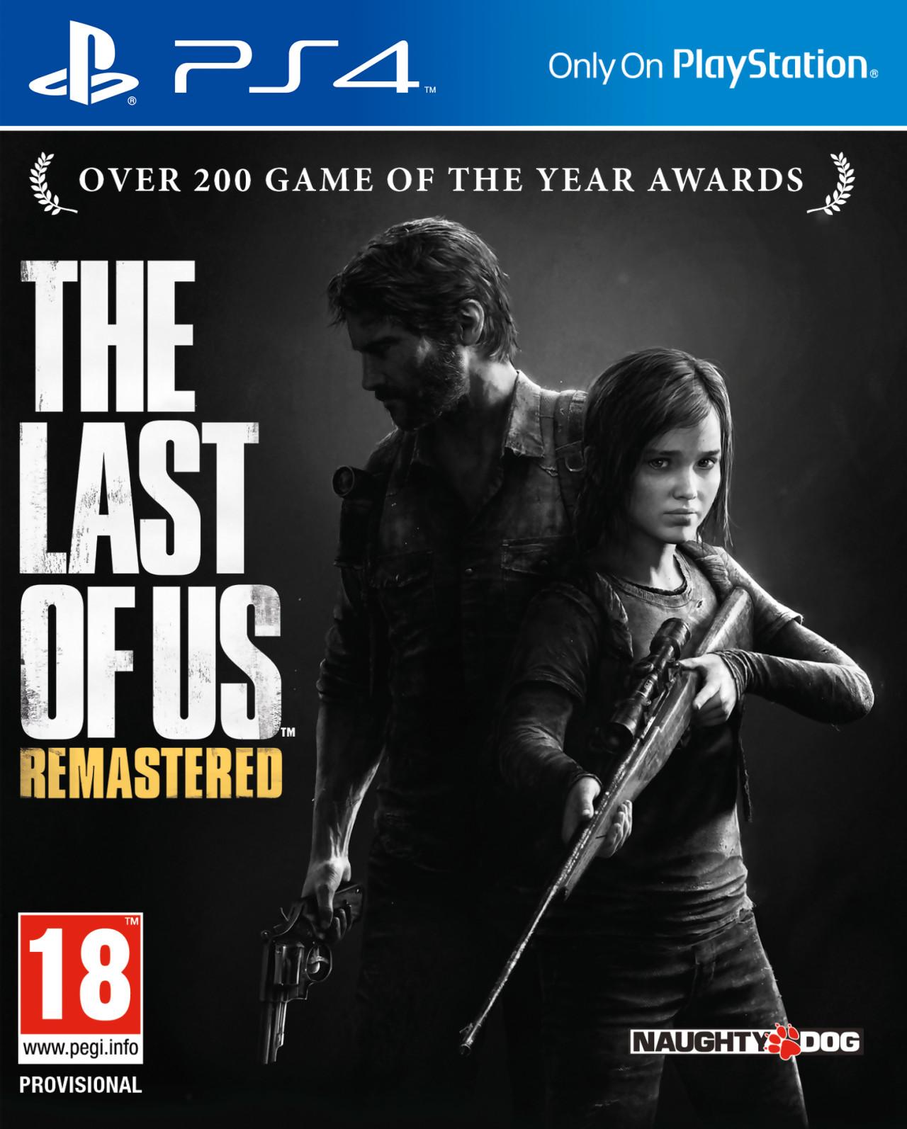 jaquette du jeu vidéo The Last of Us