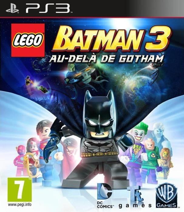 jaquette du jeu vidéo LEGO Batman 3 : Au-delà de Gotham