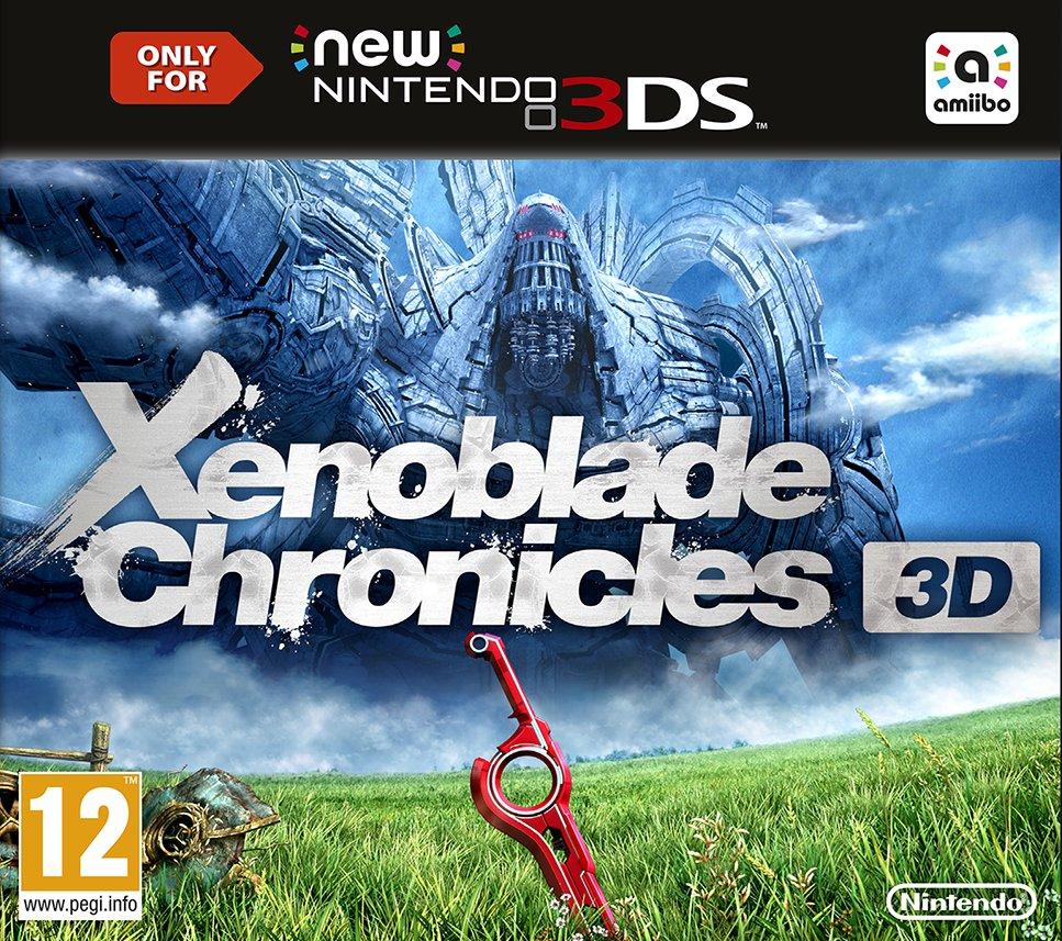 jaquette du jeu vidéo Xenoblade Chronicles