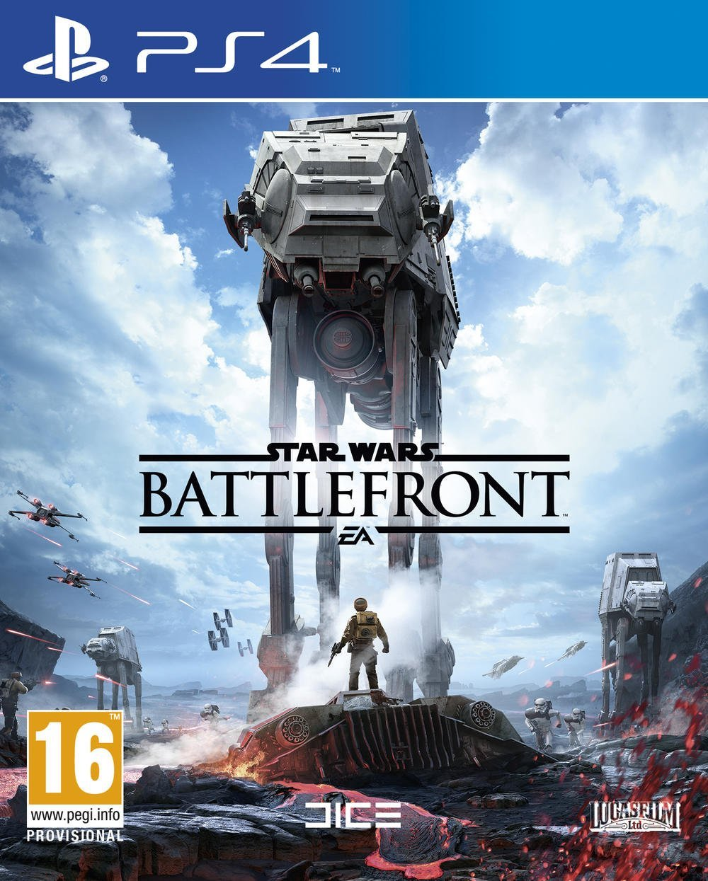 jaquette du jeu vidéo Star Wars Battlefront