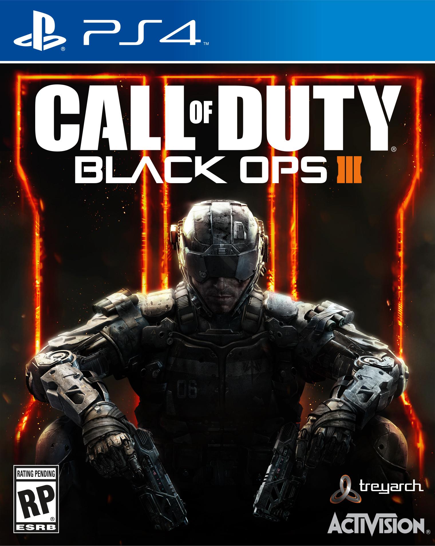 jaquette du jeu vidéo Call of Duty: Black Ops III