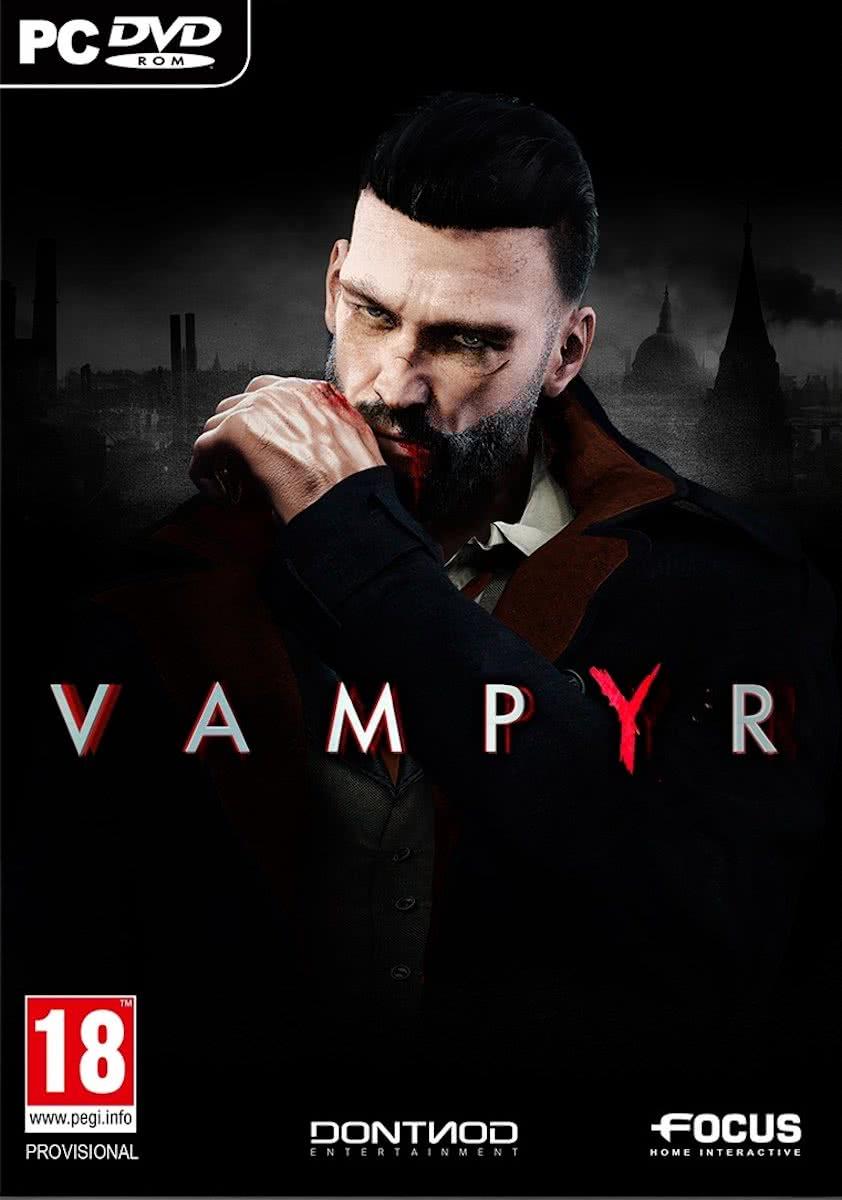 jaquette du jeu vidéo Vampyr
