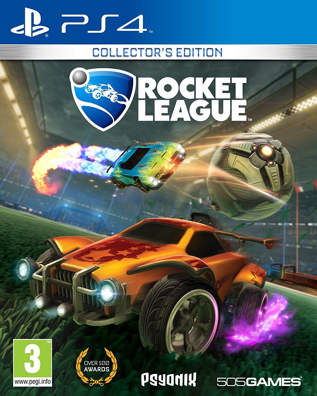 jaquette du jeu vidéo Rocket League