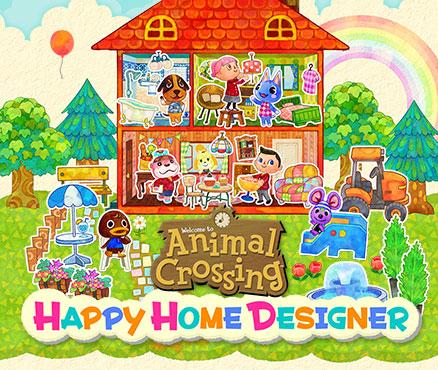jaquette du jeu vidéo Animal Crossing : Happy Home Designer