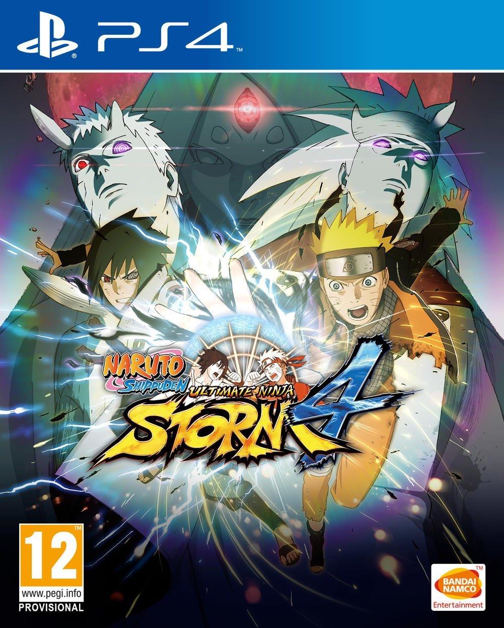 jaquette du jeu vidéo Naruto Shippūden: Ultimate Ninja Storm 4