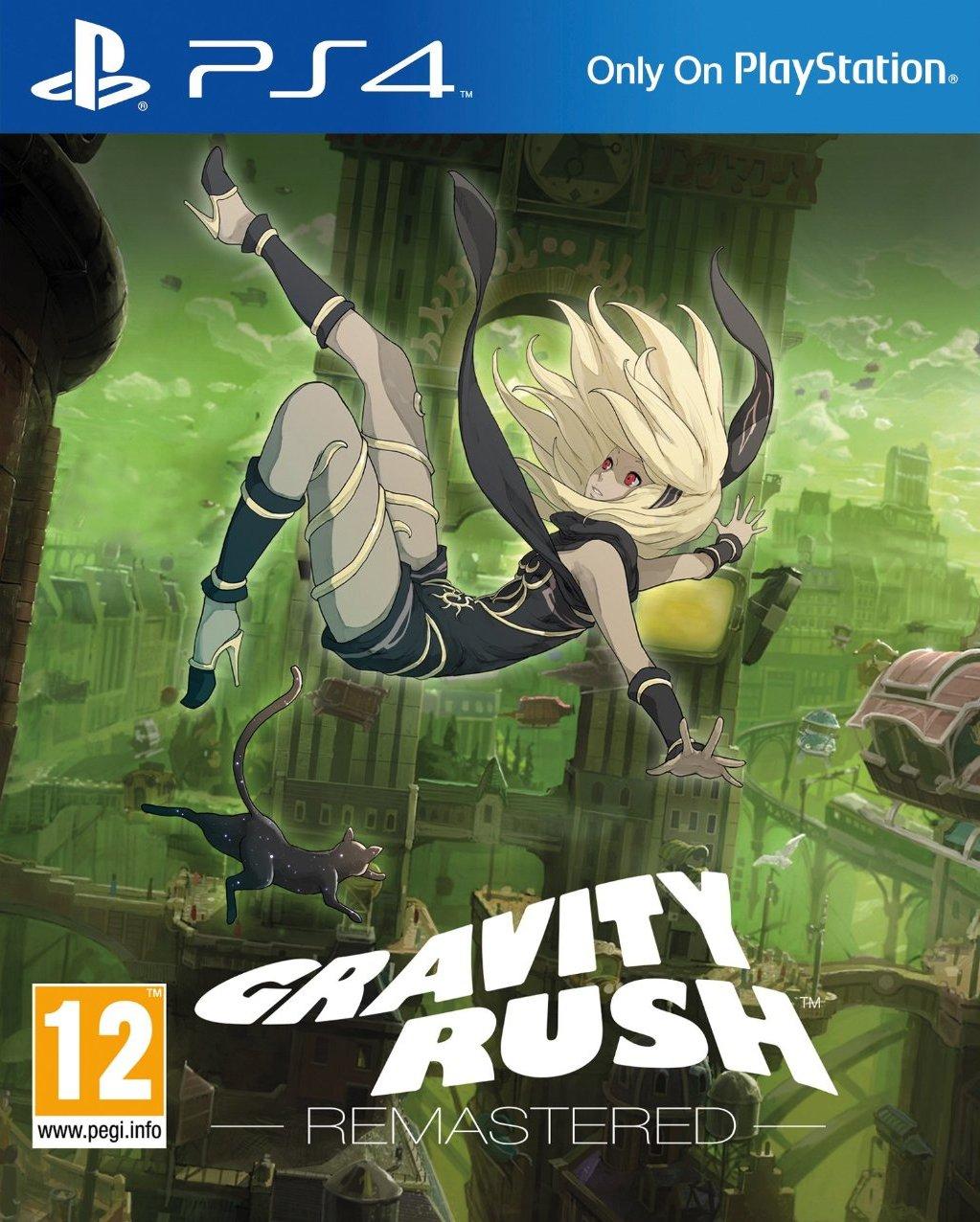 jaquette du jeu vidéo Gravity Rush