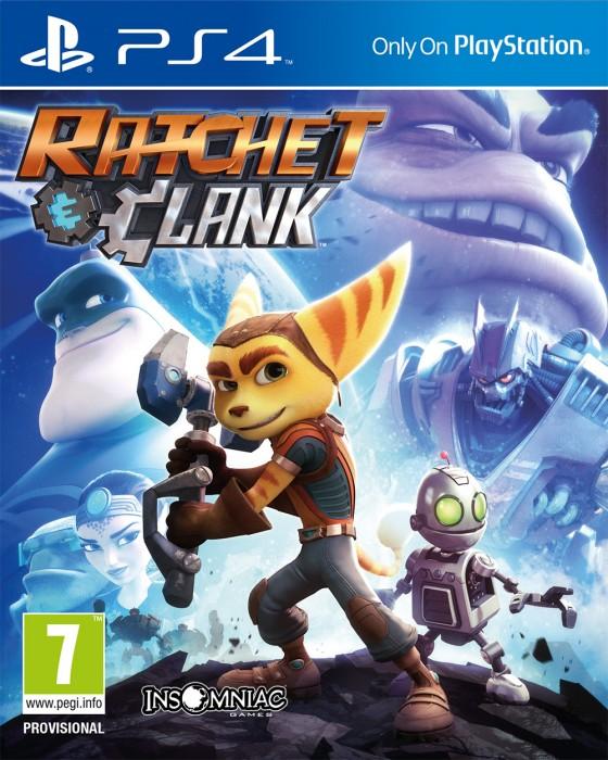 jaquette du jeu vidéo Ratchet & Clank