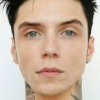 portrait Andy Biersack