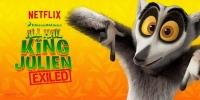Roi Julian ! L'Élu des lémurs en exil (All Hail King Julien: Exiled)