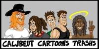 Caljbeut Cartoon Trash